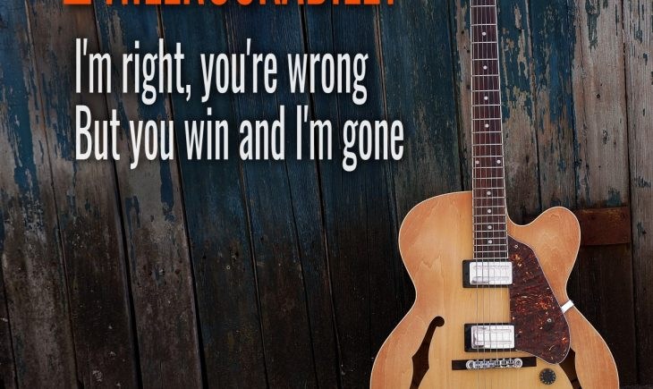 Country Musik von Hillrockabilly - I'm right, you're wrong, but you win and I'm gone